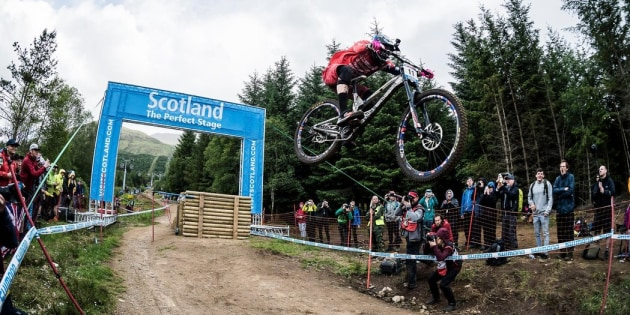 Jack Moir flying high at Fort William in 2018