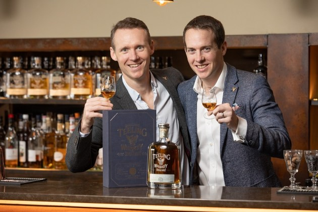 Brothers Jack and Stephen Teeling release three new whiskies in Australia.