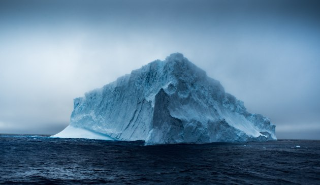© James Muir. Seascape Finalist and Grand Prize Winner. Fresh Ice, Liquid Salt.