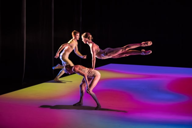 Jette Parker Young Artist Hayley Thompson and Lucy Christodoulou in 'The Appearance of Colour'. Photo: David Kelly