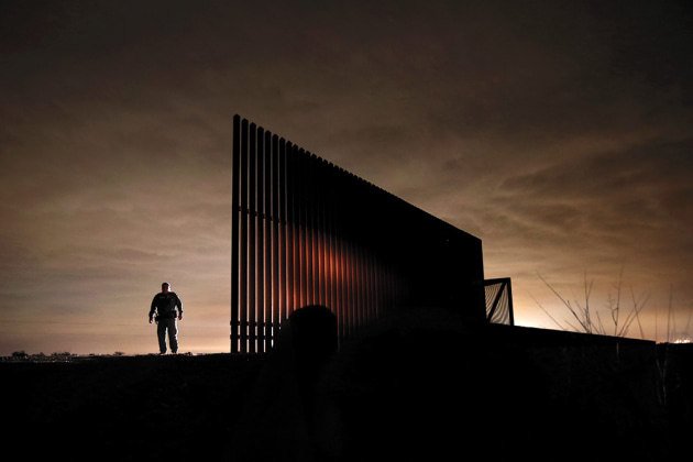 "© John Moore, from his book, ""Undocumented: Immigration and the Militarization of the United States-Mexico Border"", published by powerHouse Books."