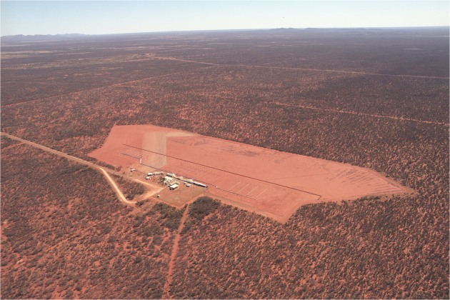 A JORN radar near Alice Springs. Credit: Defence