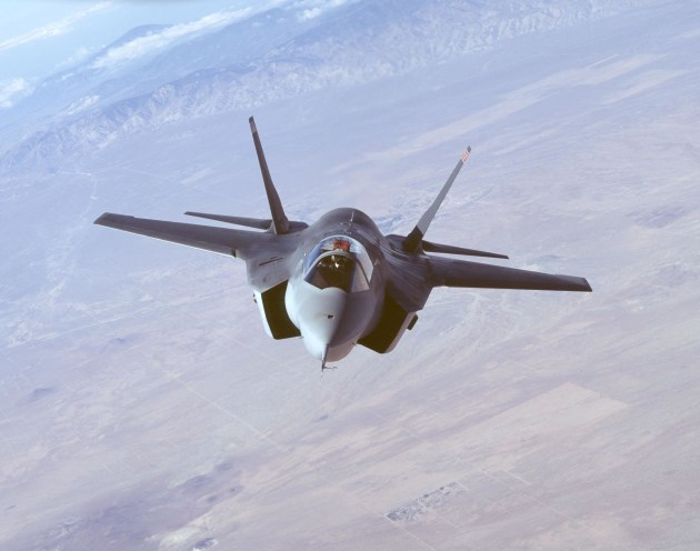 An F-35 in flight. Credit: Lockheed Martin/Defence/USAF
