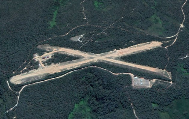 Katoomba Airports sits in the Blue Mountains World Heritage Area near Medlow Bath, NSW. (Google Earth image)