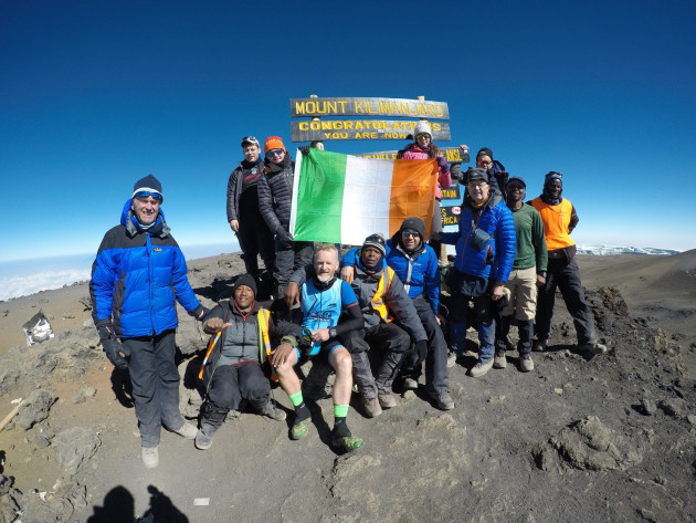 Up to now the only way to reach the top of Kilimanjaro was by walking.