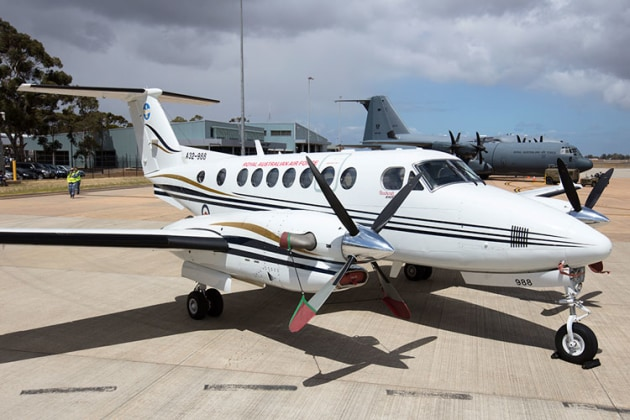 The ADF has leased this King Air B200 from Hawker Pacific for ops with 32 Sqn. (Phil Hosking)