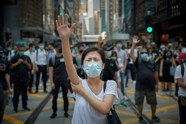 © Kiran Ridley. Professional Winner – Editorial. Pro Democracy Demonstrations, Hong Kong: The Revolution of Our Time.