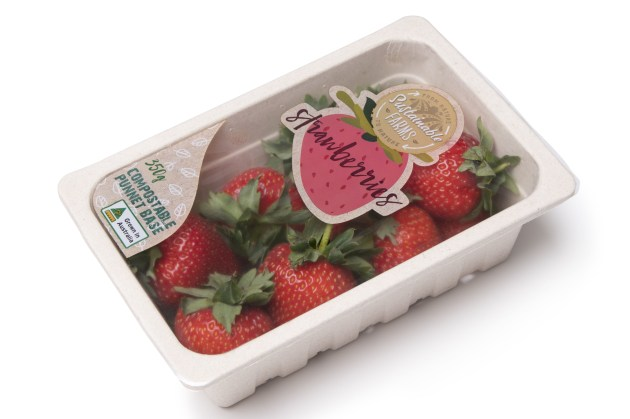 KM Packaging's KPeel lidding solution for renewable resource trays is available in Australia.