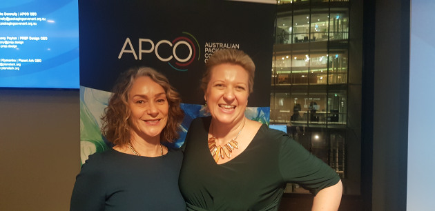 l-r Sam Anderson, APCO; Brooke Donnelly, APCO