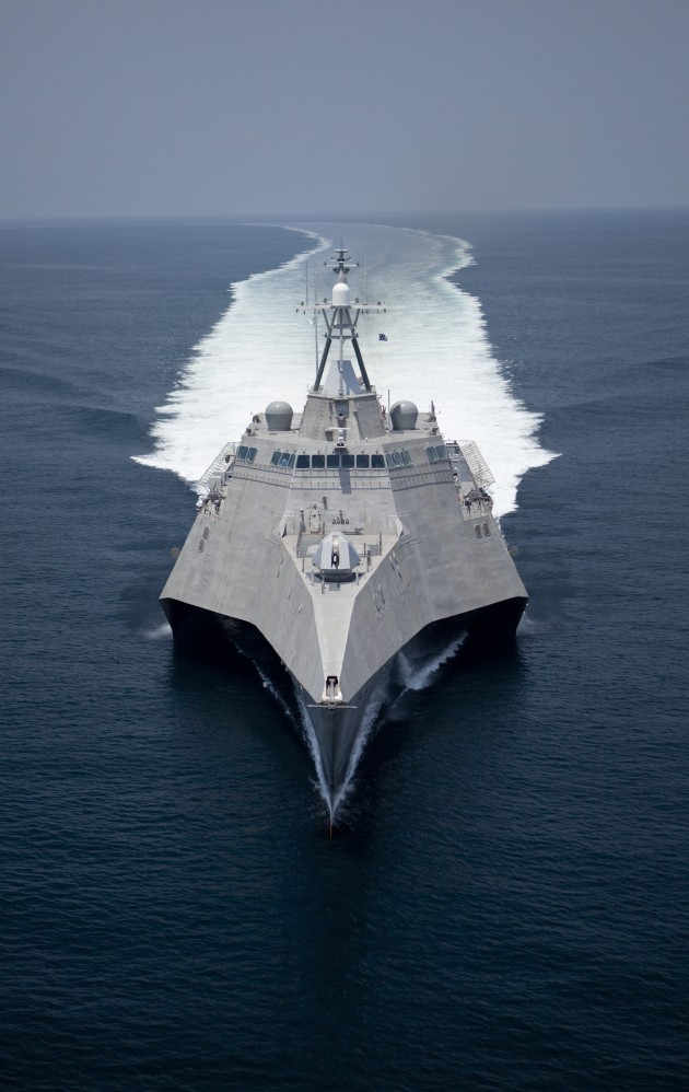 The US Navy is reported to 'routinely accept delivery of ships with large numbers of uncorrected deficiencies'.