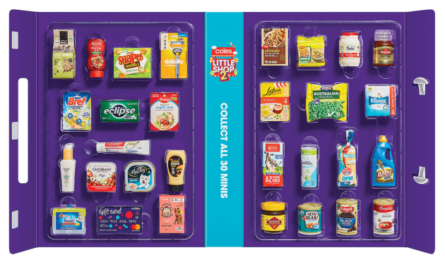 "Coles will bring back its controversial ""Little Shop"" promotion with 30 new collectables."