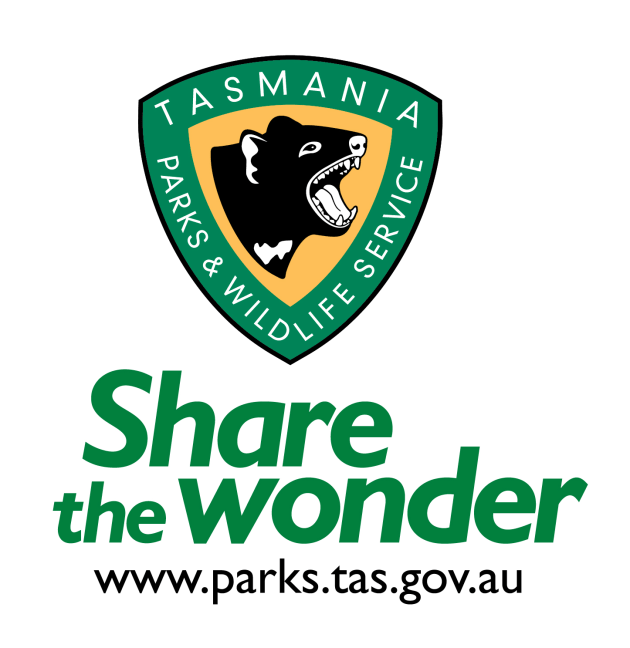The Parks Tas logo.