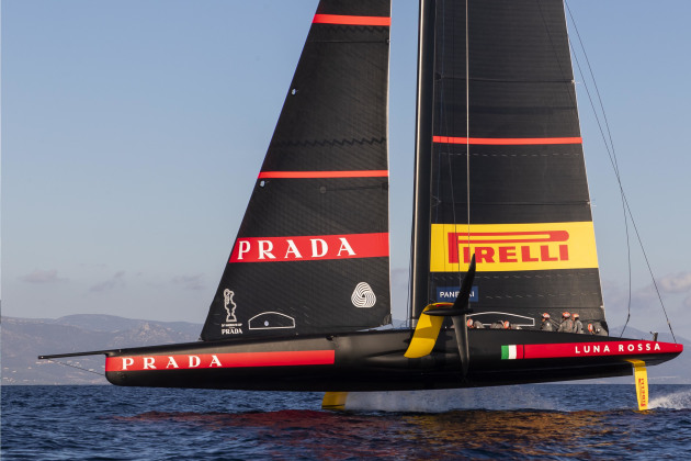 Luna Rossa Prada Pirelli has a rounded bottom