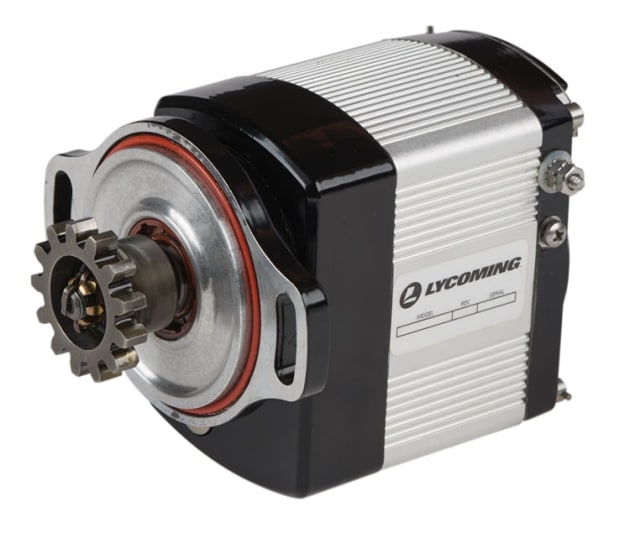 Lycoming's new electronic ignition system is designed to eliminate the need for magnetos and make starting easier. (Lycoming)