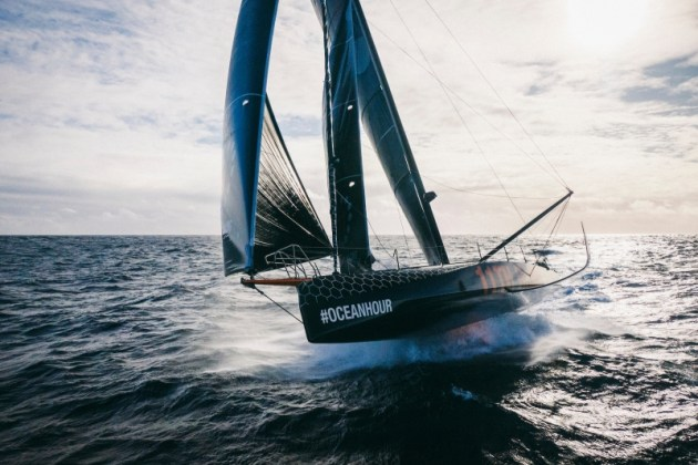 IMOCA60s will be one of two classes racing in the 2022-23 edition of The Ocean Race. © Amory Ross | 11th Hour Racing