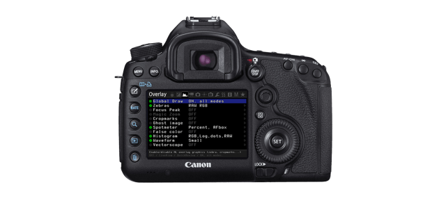 Magic Lantern unlocks many features of Canon cameras that I feel should be available within the factory firmware. You don't need to permanently modify your camera to use it either – the firmware is copied onto the SD card and easily loaded when switching the camera on.