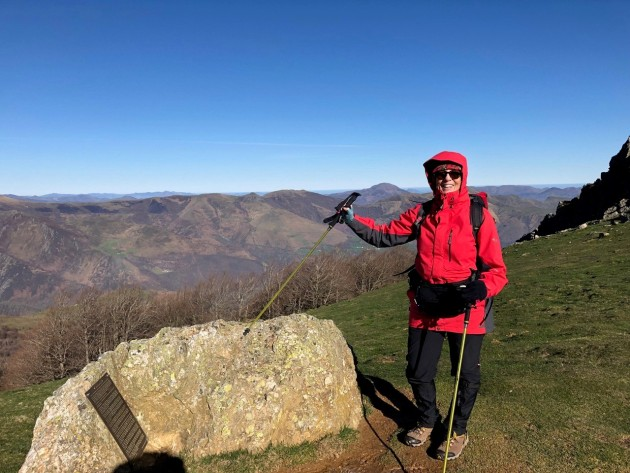 Deborah Collum on her Camino.