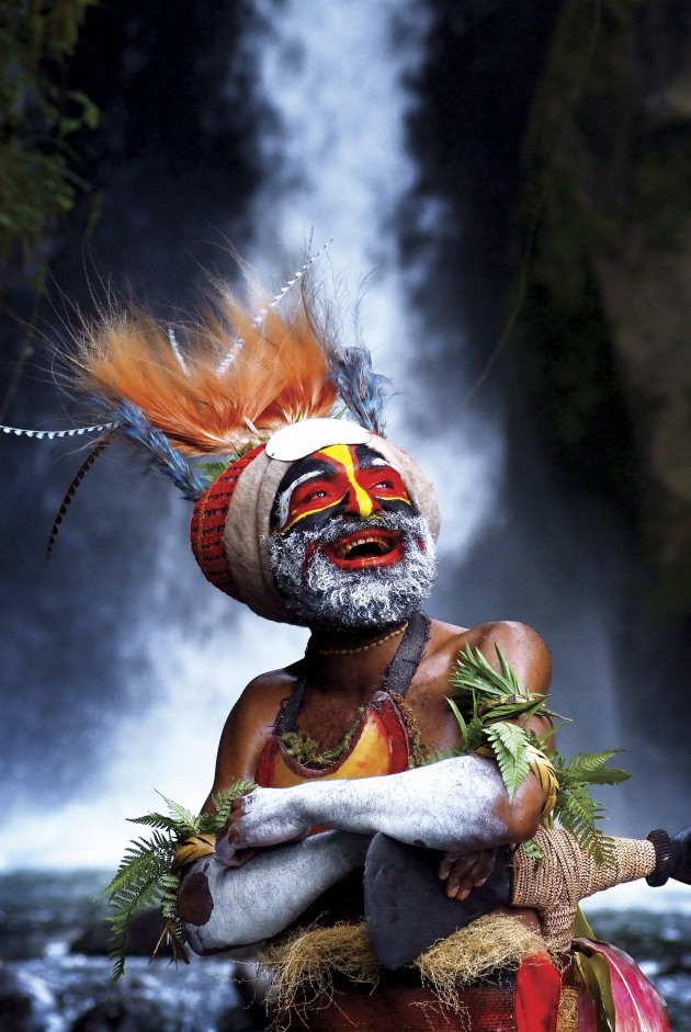 © David Kirkland. A welcoming smile from Papua New Guinea – a promotional photo used successfully by the country's tourism authority.