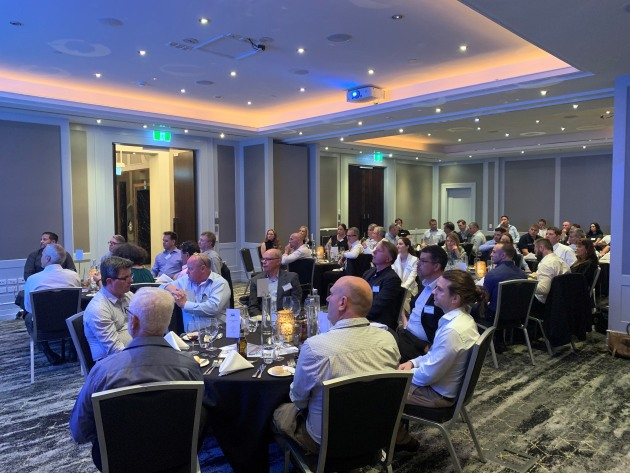 55 industry professionlas representing 22 APPMA member companies attended the Brisbane dinner event.