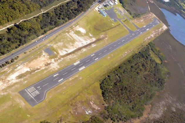 Sapphire Coast Regional Airport at Merimbula has been approved for a $4.5 million upgrade. (Steve Hitchen)