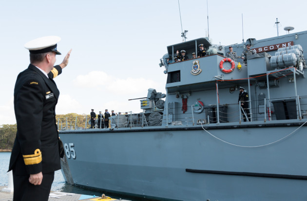 Defence revealed to the Senate that it has sold two of the six Huon-class ships.