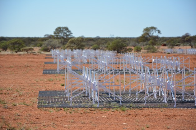 The team will use the super-sensitive Murchison Widefield Array (MWA) radio telescope to record radio waves bouncing off objects in Earth's orbit. MWA
