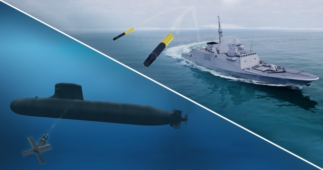 The system generates high-level acoustic signals over 360-degrees to cover the full frequency range of the attacking torpedo. (Supplied)
