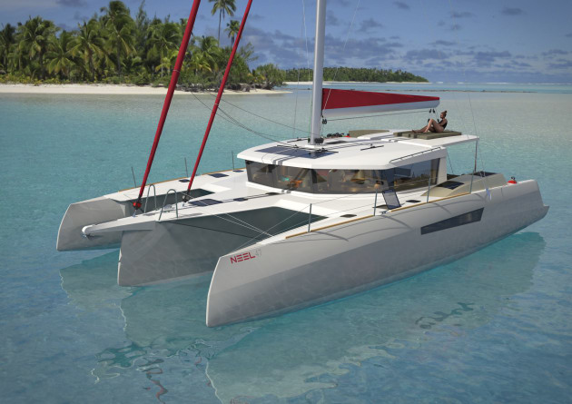NEEL Trimarans has announced its latest model, the NEEL 47.