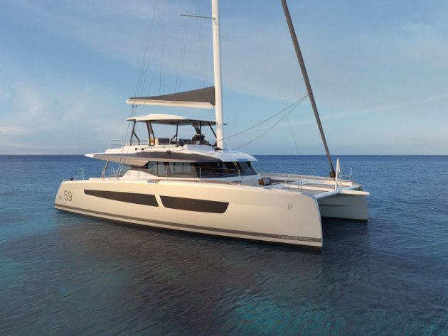 The new Fountaine Pajot Samana 59 will be unveiled at the 2020 Cannes Yachting Festival.