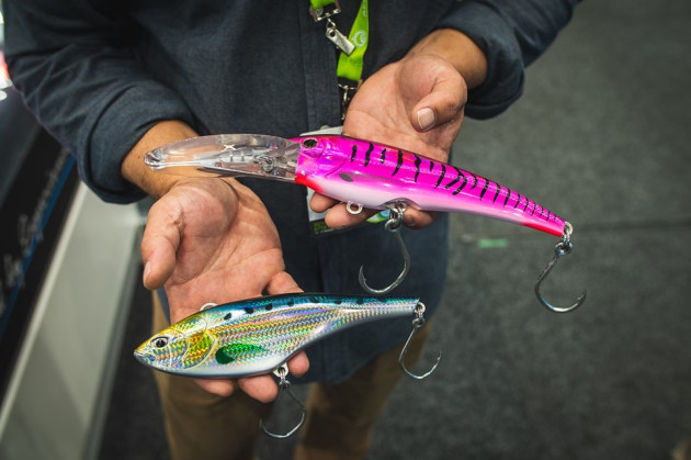 Big and fast trolling lures from Nomad Design Australia.