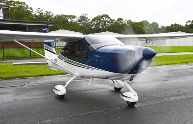 Tecnam's P2010. Australian Flying was able to test-fly the aircraft before COVID-19 closed-down the GA industry in 2020. (Steve Hitchen)