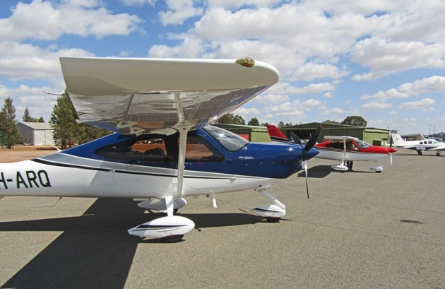 Tecnam's P2010 four-seat GA aeroplane made its AirVenture Australia debut. (Paul Southwick)