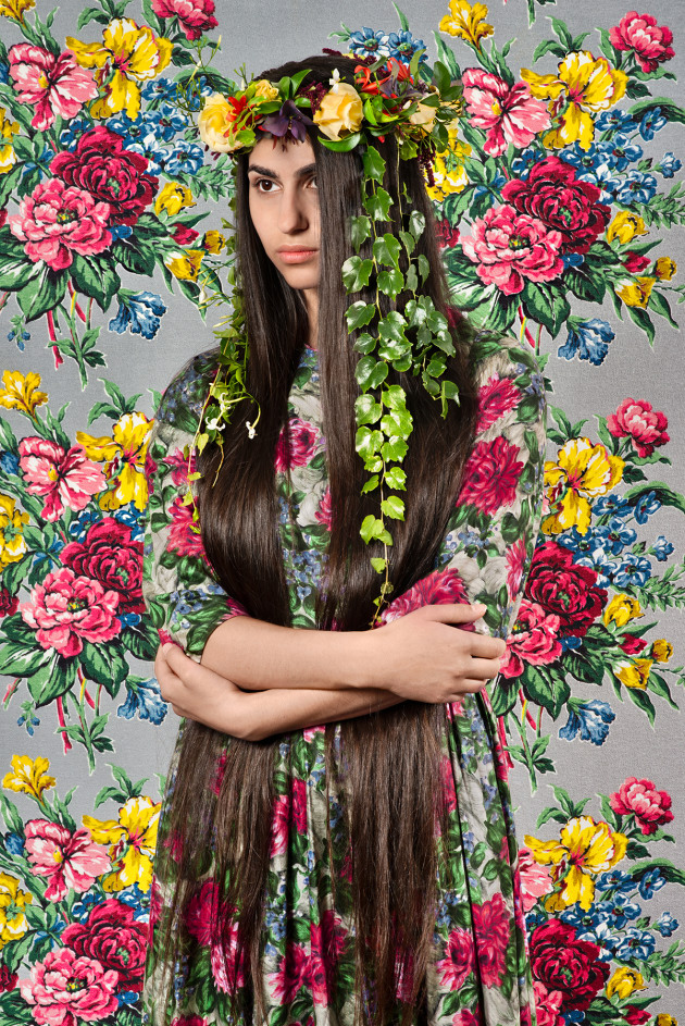 Delphi 2016, from the series, Eden. Pigment ink-jet print, 127.5 x 85.0 cm. Monash Gallery of Art, City of Monash Collection donated by MGA Foundation 2017. Courtesy of the Estate of Polixeni Papapetrou and Michael Reid (Sydney + Berlin). © Polixeni Papapetrou.