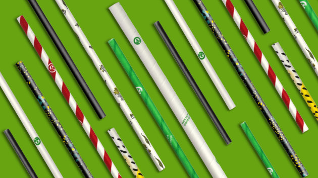 CCA will switch to paper straws from BioPak and Austraw, which will be fully recyclable, biodegradable, and FSC accredited.