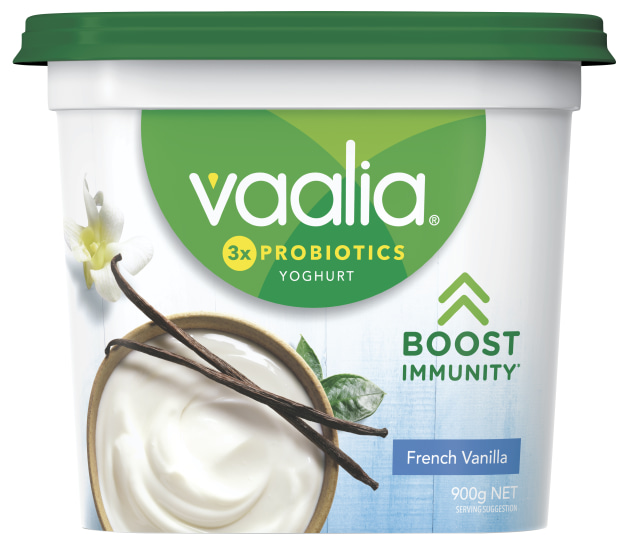 Vaalia has long recognised the value in using clinically studied, high-quality live Chr. Hansen LGG probiotics to help support the immunity in their yoghurt