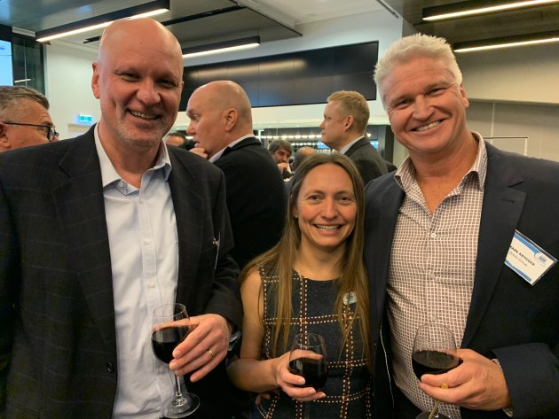 Peter Sullivan, Festo, Samantha Saunders, Imtegrated Machinery and Mark Krygger, Orora.