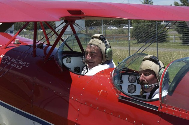 About to so some stall training in a Pitts with Action Aerobatics.