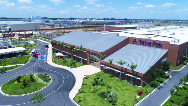 Built for the future: Tetra Pak's new greenfield site in Vietnam.