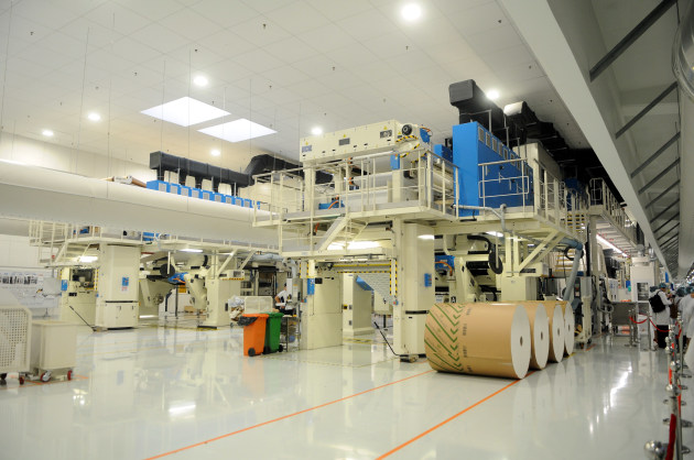 The $193m facility has an expandable capacity of 20 billion aseptic cartons per annum.