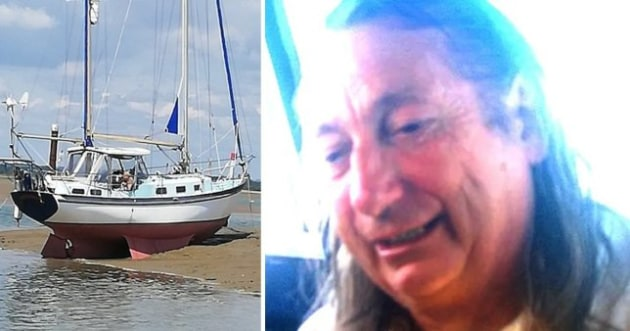 Trevor Franklin, 84, set off from Newhaven on July 1. (Picture: Sussex Police)