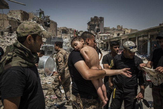 The Battle for Mosul. World Press Photo of the Year Nominee. © Ivor Prickett. 