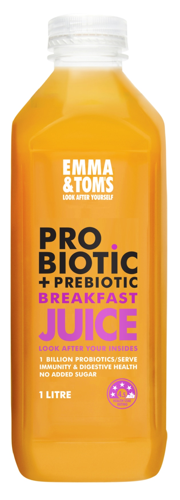 Emma & Tom use Chr. Hansen LC-431 in its probiotic juices.