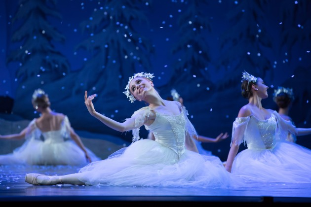 Heathcote in the Queensland Ballet's 2018 performance of 'The Nutcracker'. Photo: DAVID KELLY