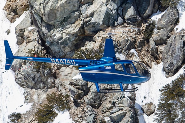 Robinson's R66 single-engine turbine has clocked up one million flight hours. (Robinson Helicopters)