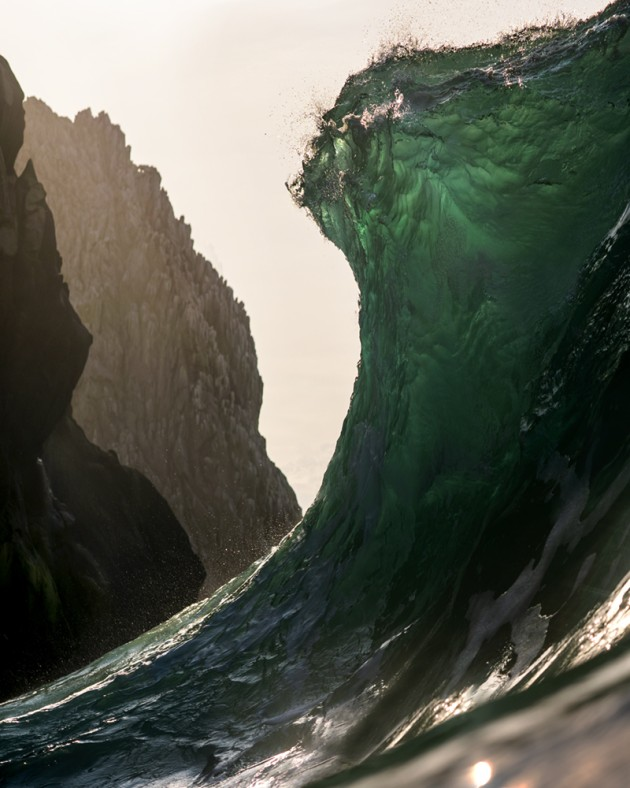 Ray Collins, Mountains. Swimming on the line between order and chaos. Mexico.
