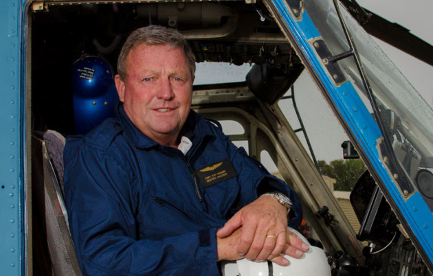 Kestrel Aviation's Ray Cronin has spent a lifetime flying helicopters and training pilots to follow in his footsteps. (Kestrel Aviation)
