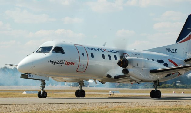 Regional Express is one of Australia's largest regional airlines. (Steve Hitchen)