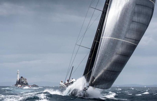 Rounding the Fastnet Rock with be memorable-for-all - Kurt Arrigo/Rolex pic