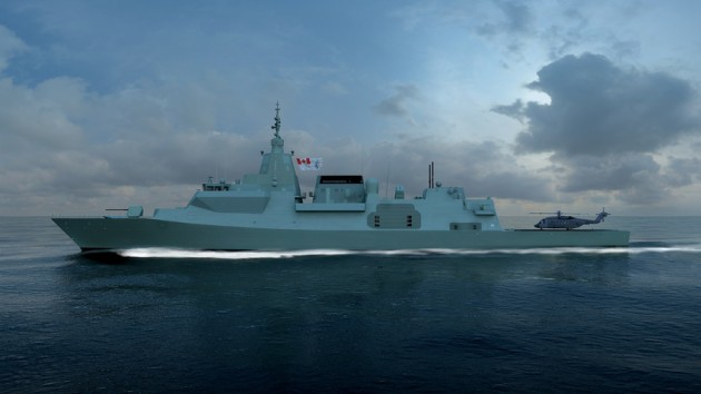 The future Canadian variant of the Type 26. Credit: BAE