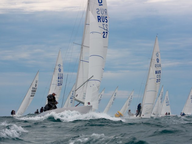 Dragon Worlds Fremantle 2019. Photo Tom Hodge Media.